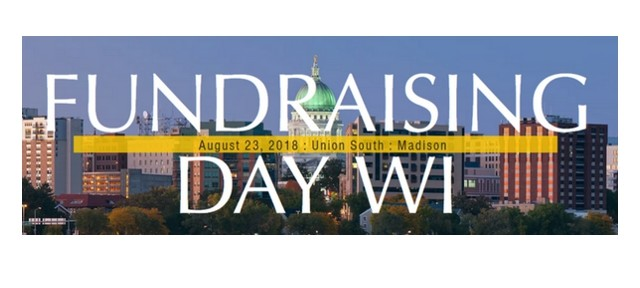 Fundraising Day Wisconsin – don't miss it! I'm serious.